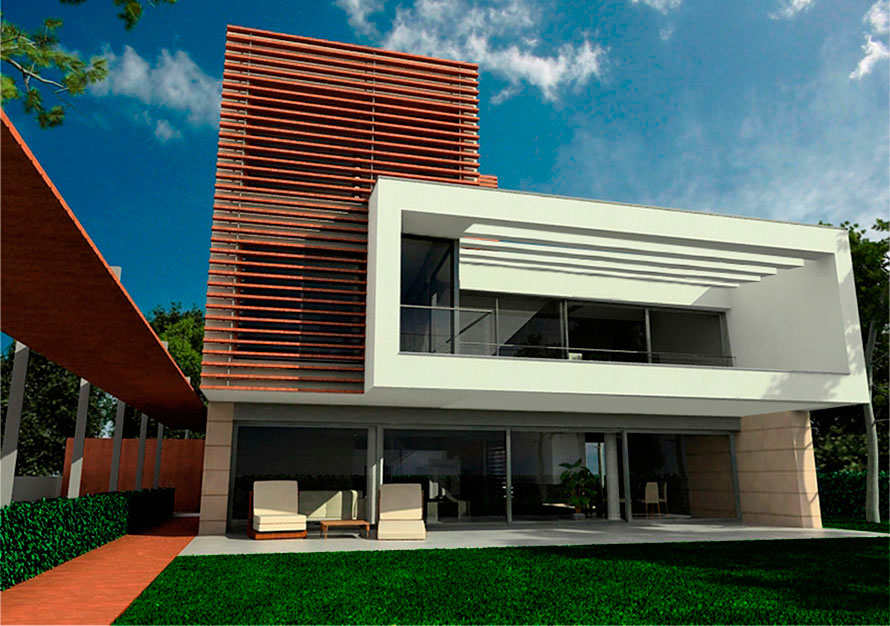 Gav c cubelles vivienda unifamiliar juli p rez catal - Proyectos de viviendas unifamiliares ...